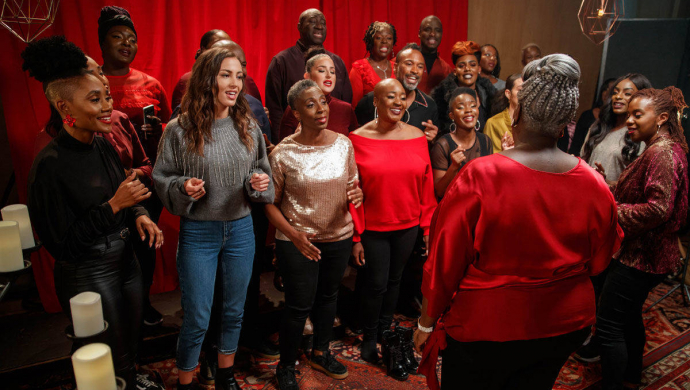 The Kingdom Choir (ft. Namika & Camelia) 'Holidays Are Coming' by Olivia Emes