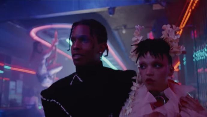 A$AP Rocky, FKA twigs 'Fukk Sleep' by Diane Kunst