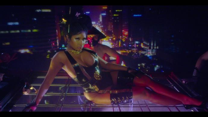 Nicki Minaj 'Chun-Li' by Steven Klein