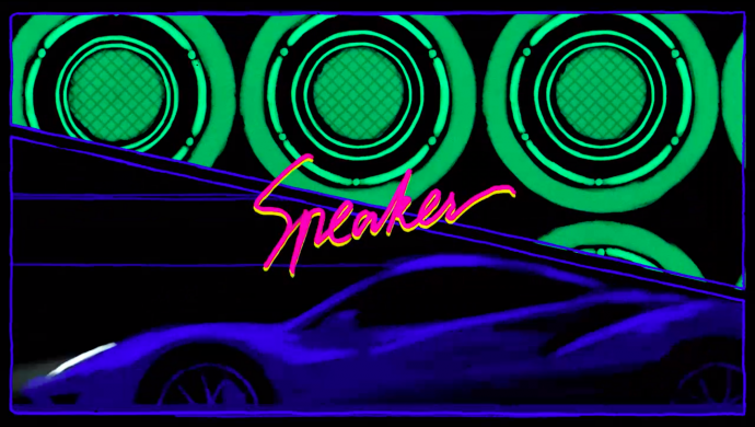 Banx & Ranx ft. Olivia Holt and ZieZie 'The Speaker' by Tjoff Koong Studios