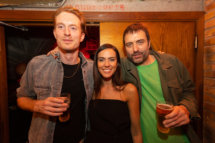 Steve Moss wins Homespun Yarns 2018 at Fabric screening party