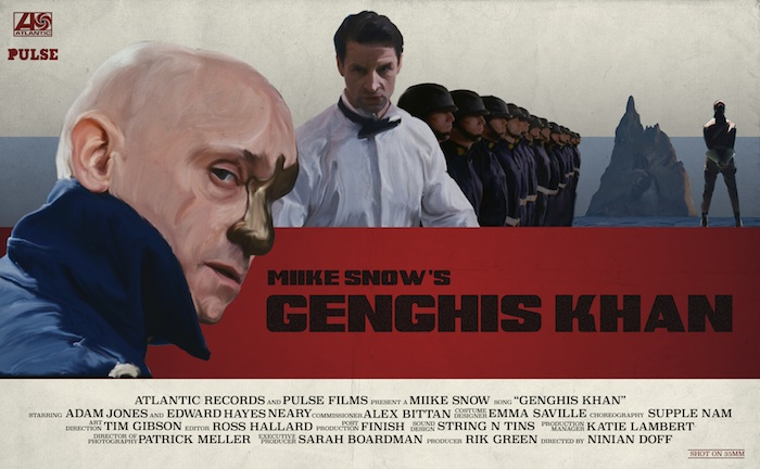Miike Snow 'Genghis Khan' by Ninian Doff