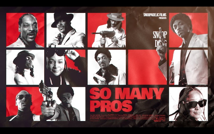 Snoop Dogg 'So Many Pros' by Francois Rousselet