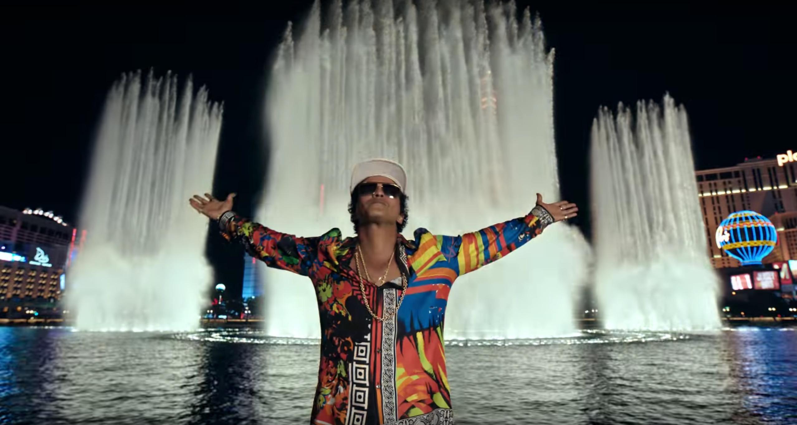 Bruno Mars '24k Magic' By Cameron Duddy