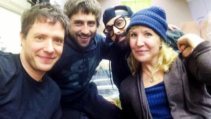 "Trish Sie on OK Go's 'Upside Down' video: ""I was petrified of this one!"""
