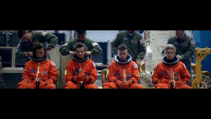 One Direction win Best Video Brit Award for third year running
