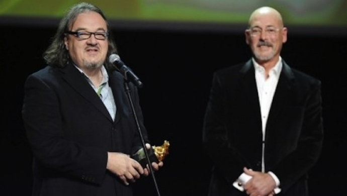 Andy Morahan receives Outstanding Achievement Award at Camerimage 2011
