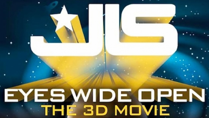 Andy Morahan's JLS movie Eyes Wide Open 3D crashes into UK box office Top 10 at #5