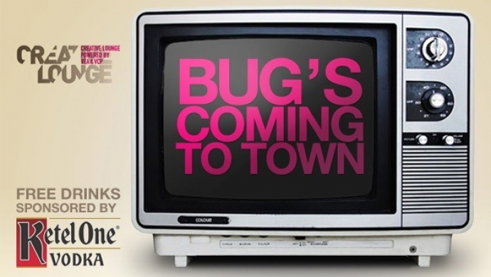 BUG at Creative Lounge in Amsterdam next Tuesday, May 25th