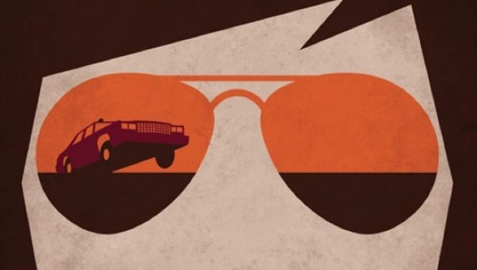Minimalist music video posters by Federico Mancosu