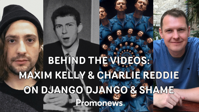 """Behind the Django Django's Spirals and Shame's Nigel Hitter videos with Maxim Kelly and Charlie Reddie: """"They're products of the pandemic"""""""