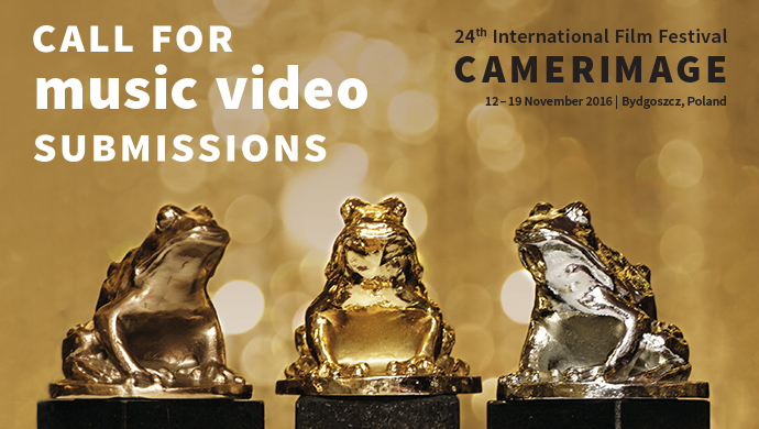 24th Camerimage Festival - call for entries for Music Videos Competition