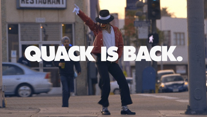 Duck Sauce 'Quack Is Back' by Mister Whitmore