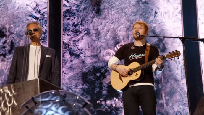 Ed Sheeran ft. Andrea Bocelli 'Perfect Symphony' (live at Wembley Stadium) by Jamie Carter