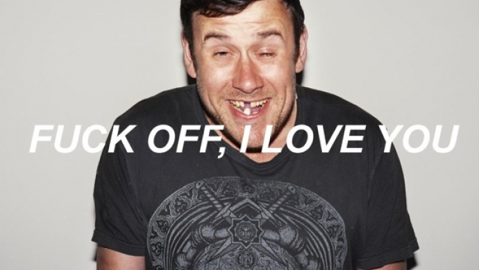 Fuck Off, I Love You: a photo exhibition by Huse Monfaradi & Dan Wilton