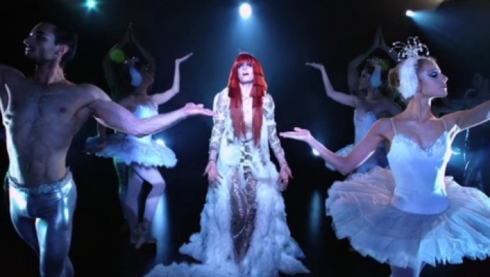 Florence + The Machine 'Spectrum (Say My Name)' by David LaChappelle