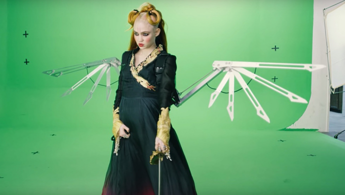 Coronavirus update: make your own Grimes video from greenscreen footage