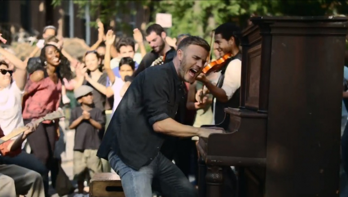 Gary Barlow 'Let Me Go' by Ben Winston
