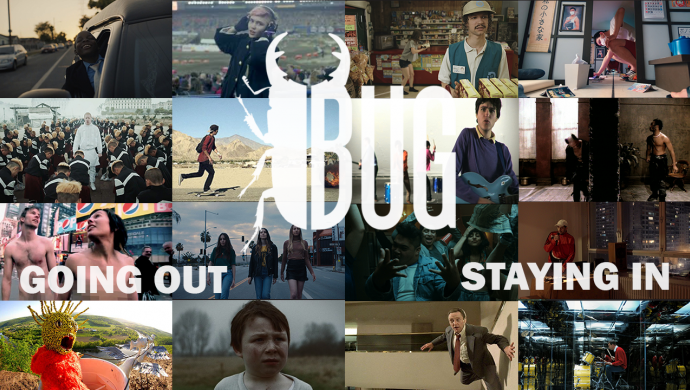 BUG launches Staying In and Going Out - two playlists of brilliant creativity to enjoy at home