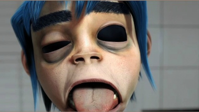 Gorillaz, Andre 3000, James Murphy 'DoYaThing' by Jamie Hewlett