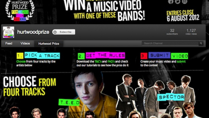 Hurtwood Prize competition launches with tutorials by music video professionals