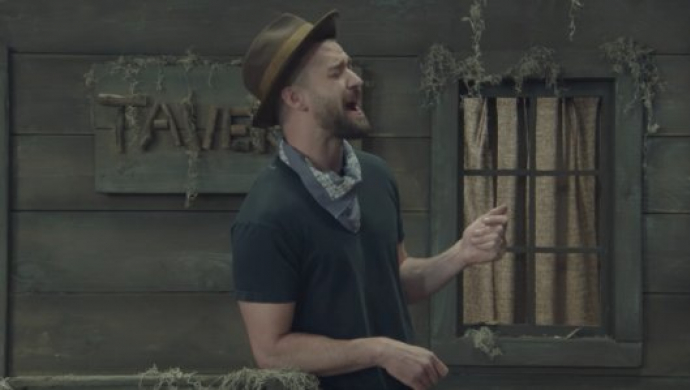 Justin Timberlake 'Man Of The Woods' by Paul Hunter