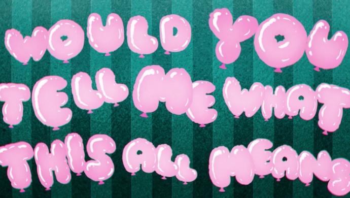 Lily Allen 'Air Balloon' by Alasdair+Jock