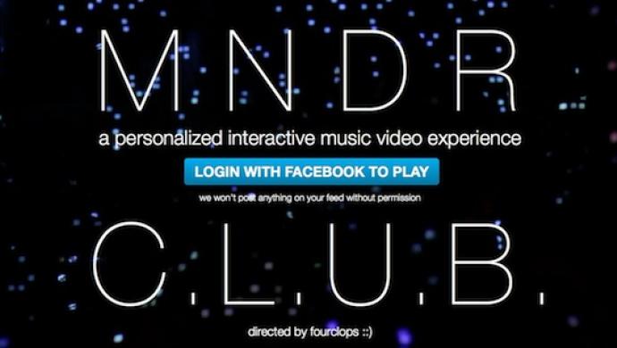 MNDR 'C.L.U.B.' by fourclops