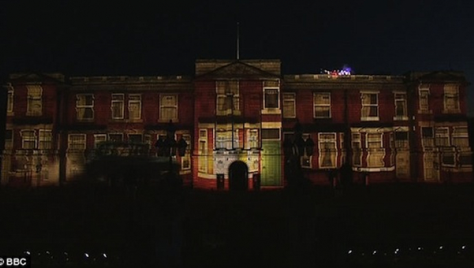 Madness projections on Buckingham Palace by Trunk at Jubilee concert steal the show