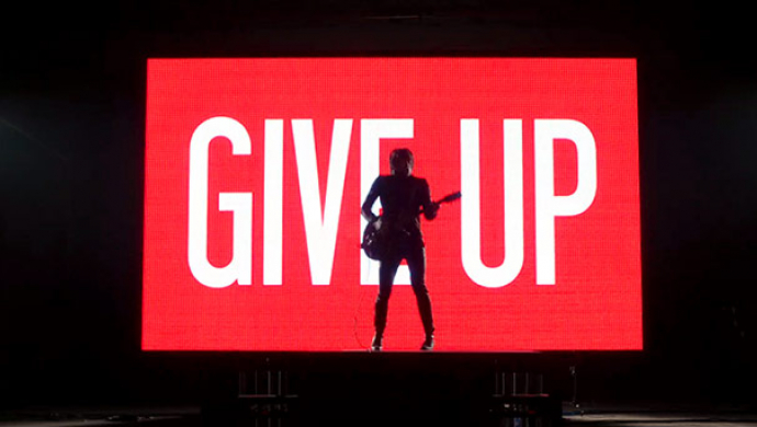 Miles Kane 'Give Up' by David Mould