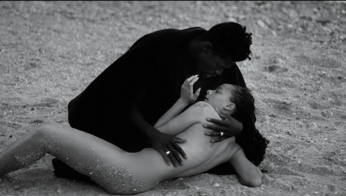 Moses Sumney 'Lonely World' by Allie Avital