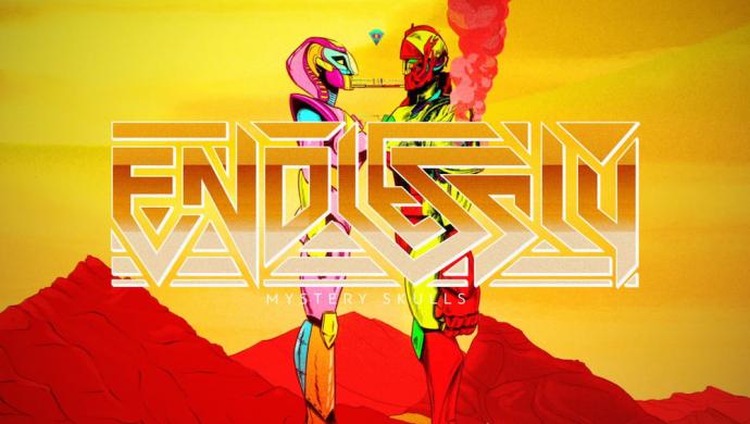 Mystery Skulls 'Endlessly' by Double Ninja