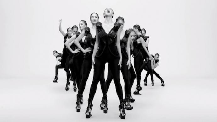 Nicole Scherzinger 'Boomerang' by Nathalie Canguilhem