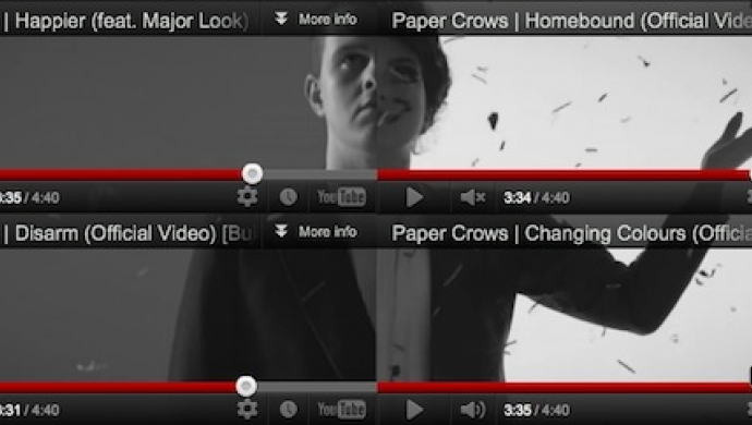 Paper Crows 'Build EP' by Powster