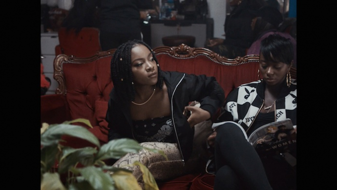 RAY BLK 'Patience' by Hector Dockrill