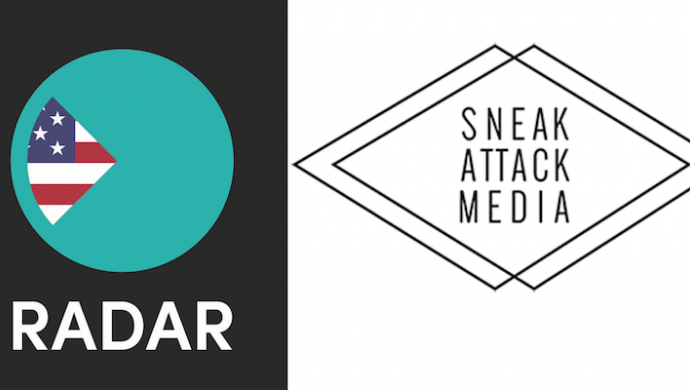Radar team with Sneak Attack Media to launch in North America