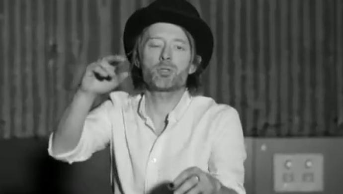 Radiohead's Lotus Flower by Garth Jennings