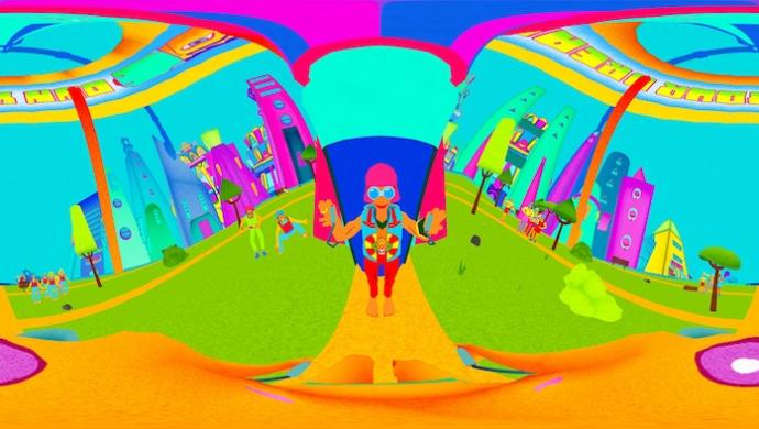 Squarepusher 'Stor Eiglass' by Marshmallow Laser Feast, Rob Pybus & Blue Zoo