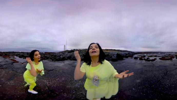 Björk 'Stonemilker' by Andrew Thomas Huang