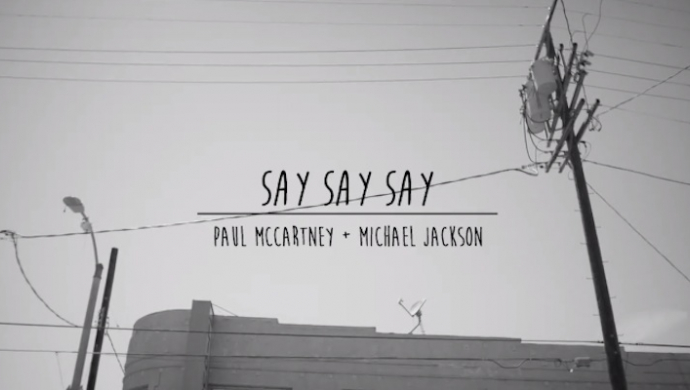 Paul McCartney 'Say Say Say' by Ryan Heffington