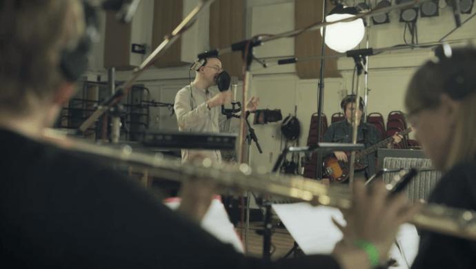 Bombay Bicycle Club at Abbey Road 'Spotify Singles' by Huse Monfaradi