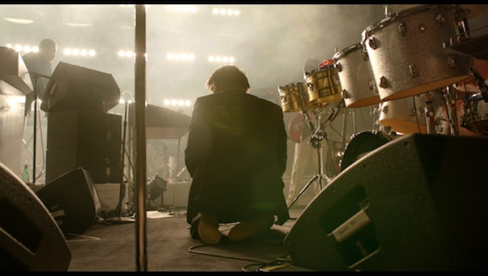 LCD Soundsystem 'SHUT UP AND PLAY THE HITS' by Dylan Southern and Will Lovelace