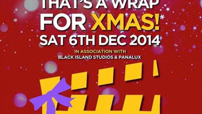 'That's A Wrap For Xmas!' fundraising party in memory of Barry Wasserman on Dec 6th