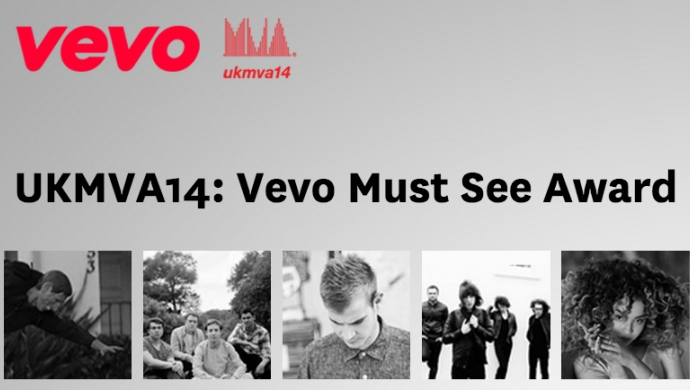 UK Music Video Awards 2014: voting ends tonight (Nov 3rd) on the Vevo Must See Award