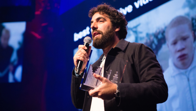 Romain Gavras wins Video Of The Year for Jamie xx's Gosh, Ninian Doff wins Best Director, Vaughan Arnell accepts Icon Award at UK Music Video Awards 2016