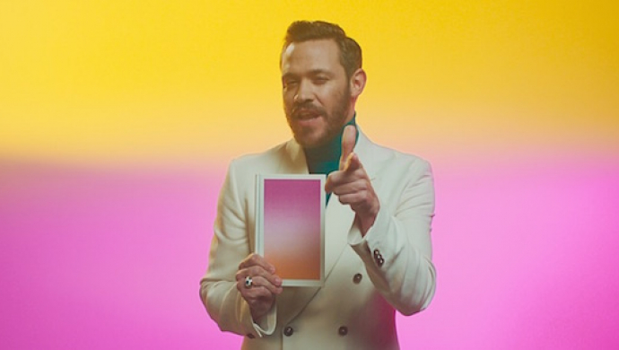 Will Young 'Love Revolution' by Chino Moya
