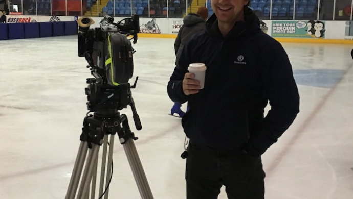 """Eoin Glaister on his Aquilo trilogy: """"We stole a young ice skater's life"""""""