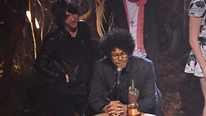 Richard Ayoade wins best video and best DVD at NME Awards