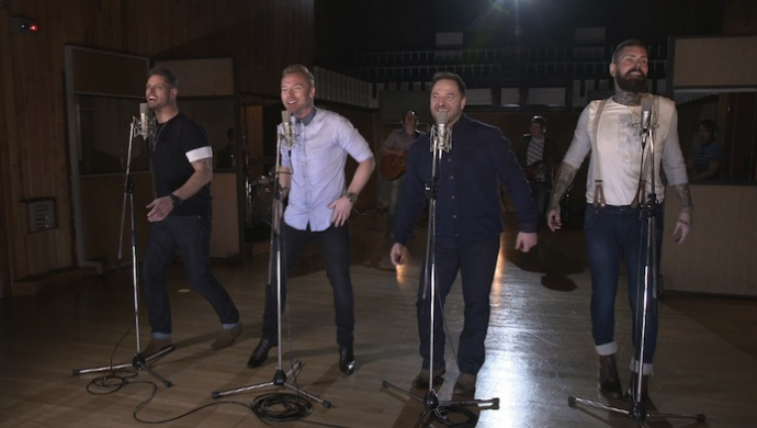 Boyzone 'Who We Are' by Jamie Carter