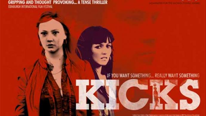 Lindy Heymann's Kicks premiere at Edinburgh this Saturday